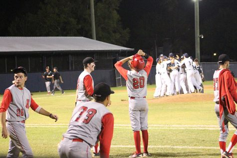 Baseball season ends in regional semis
