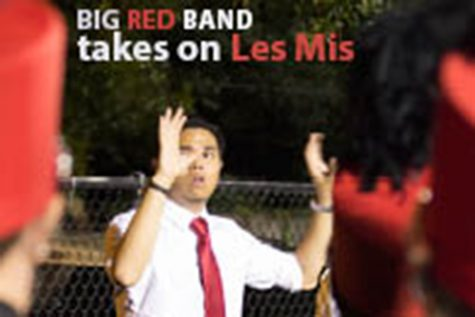 Big Red Band takes on Les Mis
