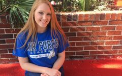 Senior receives appointment from U.S. Air Force Academy
