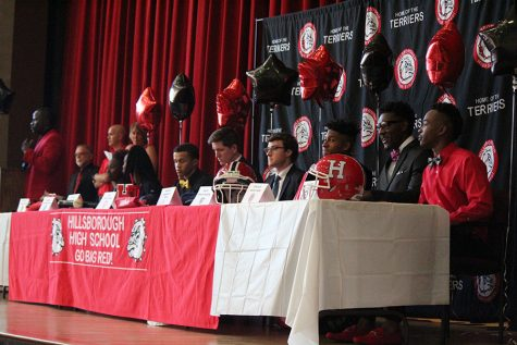 UPDATED: Eight athletes commit to colleges