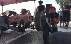 Crew team has its first annual erg-a-thon