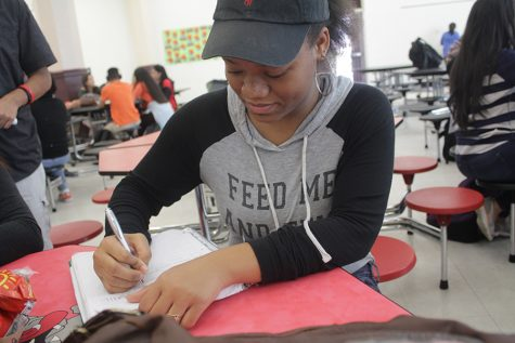 Student finds her voice through poetry