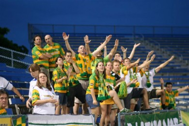Rowdies hype hits Tampa