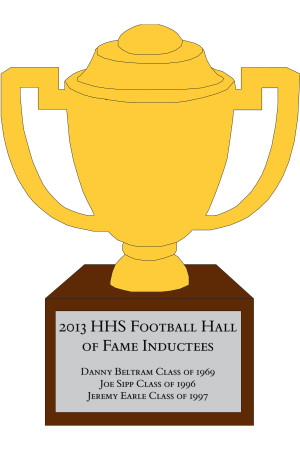 2013 inductees to the HHS Football Hall of Fame