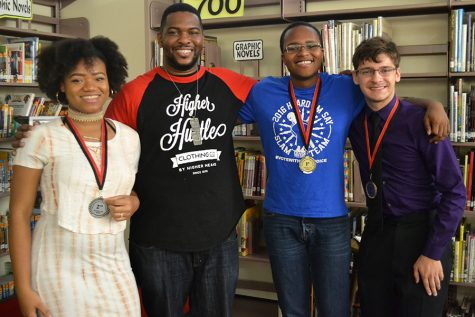 Students perform original poems in Poetry Jam competition