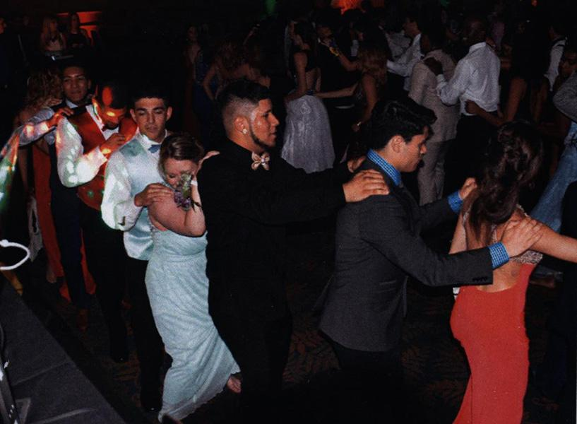 HHS students enjoy last year's prom