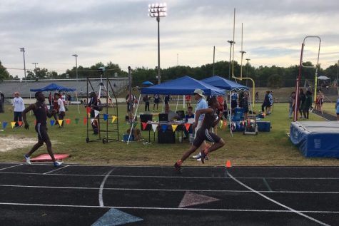 Terriers run away with the gold at Manuel-Griffin track meet