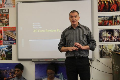 AP European History teacher hosts review sessions