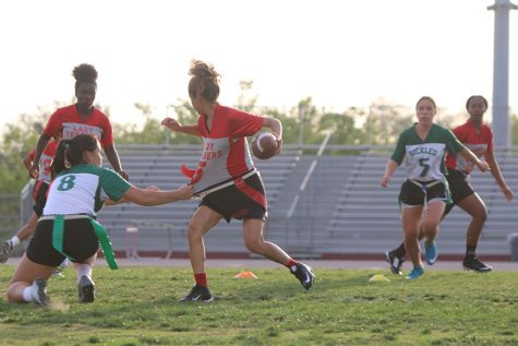 Flag football loses to Sickles 46-0 at last home game of the season