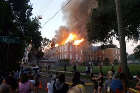 Lee Elementary damaged in unexpected fire