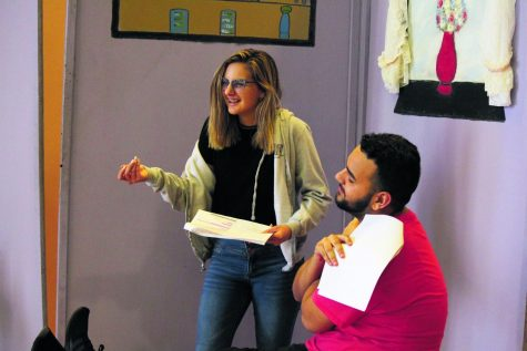 Behind the scenes of Hillsborough High School's one act play