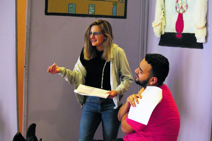 Behind the scenes of Hillsborough High Schools one act play