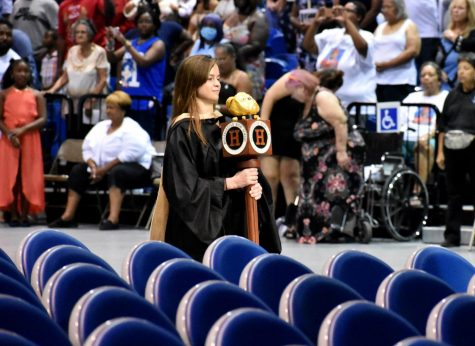 Hillsborough High School hosts the 2019 graduation at the Florida State Fairgrounds