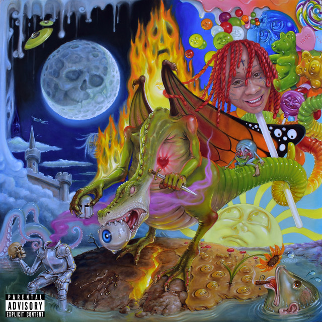Trippie+Redd+finds+his+new+style+in+Trip+at+Knight