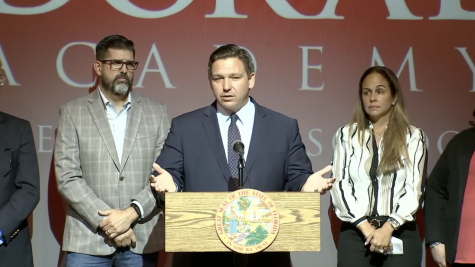 DeSantis calls for the end of FSA testing. Photo by: WTVJ